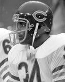 Walter Payton. Chicago Bears RB Walter Payton, #34. (Image taken from a b&w negative Royalty Free Stock Photo