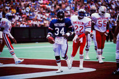Walter Payton NFC Pro-Bowl player Stock Images