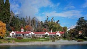 Walter Peak Farm On Lake Wakatipu. Queenstown New Zealand Royalty Free Stock Image