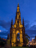 Walter Scott Monument, Edinburgh Lizenzfreies Stockbild