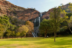 Walter Sisulu National Botanical Garden. Waterfall in Walter Sisulu National Botanical Garden in Roodepoort near Johannesburg Stock Photo