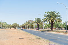 Walter Sisulu Road in Bloemfontein Stock Photography