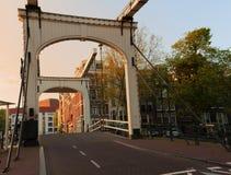 Walter Suskind bridge, Amsterdam, 1906. Stock Images