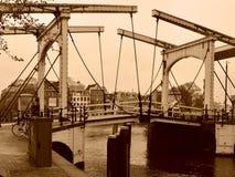 Walter Suskind Brug, Amsterdam Fotografering för Bildbyråer