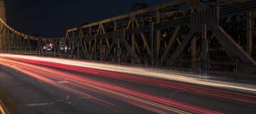 Walter Taylor Bridge à Brisbane Images stock