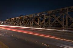 Walter Taylor Bridge in Brisbane Lizenzfreie Stockbilder