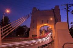 Walter Taylor Bridge a Brisbane immagini stock