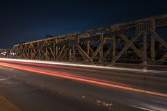 Walter Taylor Bridge em Brisbane Imagens de Stock Royalty Free