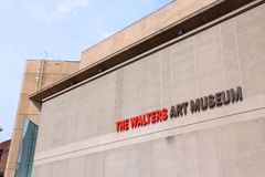 Walters Art Museum, Baltimore Stock Images