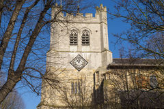 Waltham修道院教会 免版税库存照片