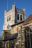 Waltham修道院教会 库存图片