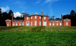 Waltham, MA :19世纪戈尔位置 库存照片