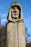 Waltham Abbey Oak Sculpture Imagen de archivo libre de regalías
