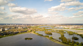 Walthamstow Reservoirs, London. Stock Image