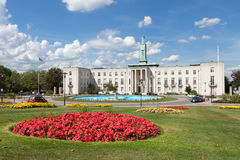 Walthamstow Town Hall in London Royalty Free Stock Photo