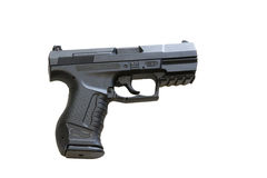Walther P99 is a semi-automatic pistol Stock Photos