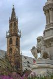 Walther Square a Bolzano Fotografia Stock