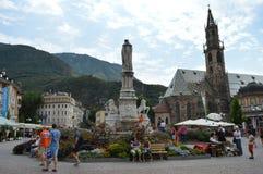 Waltherplatz  Bolzano Stock Photos