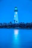 Walton Lighthouse, Santa Cruz Royalty Free Stock Images