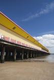 Walton Pier, Walton-auf-d-Naze, Essex, England Lizenzfreie Stockbilder