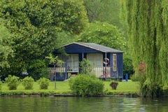 Walton-on Thames, England. Life on the Thames river, England stock photography