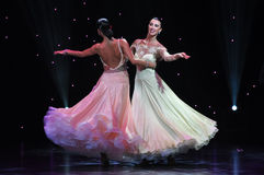 Waltz Ballroom Royalty Free Stock Images