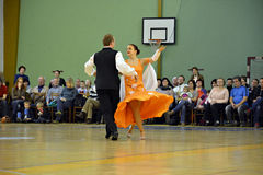 Waltz dancers Royalty Free Stock Photos