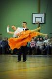 Waltz dancers Royalty Free Stock Photo