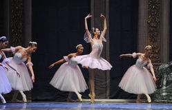 Waltz of the flowers-Tableau 3-The Ballet  Nutcracker Royalty Free Stock Photos