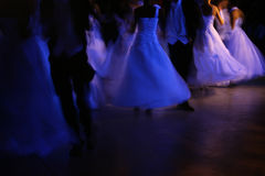 Waltz in UV light Stock Images