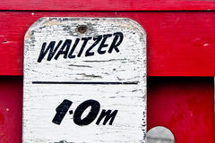 Waltzer height limit Stock Images