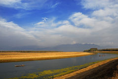 Walur. Is the asias largest lake Stock Photography