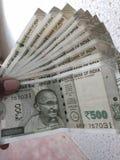 Walut indiańskie notatki zdjęcia stock
