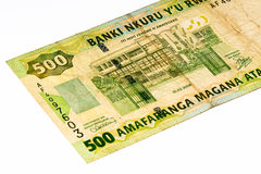 Waluta banknot Afryka Obrazy Royalty Free