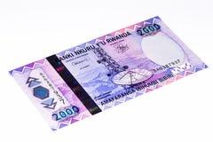 Waluta banknot Afryka Fotografia Royalty Free