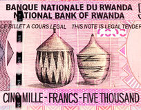 Waluta banknot Afryka Zdjęcia Stock