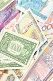 waluta cudzoziemska Obrazy Stock