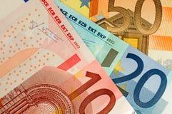 waluta euro Obrazy Royalty Free