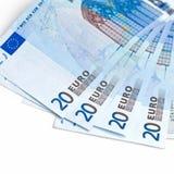 waluta euro Zdjęcie Royalty Free