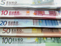 waluta europejczyk Zdjęcie Royalty Free