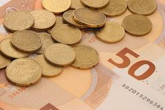 Waluta Europejski zjednoczenie zdjęcie stock