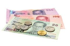 waluta Thailand zdjęcia royalty free