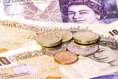 waluta wielkiej brytanii Zdjęcia Royalty Free