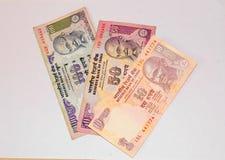 waluty hindusa notatki Obrazy Stock