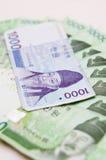 waluty Korea południe zdjęcie stock