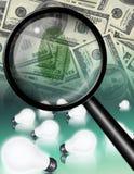 Waluty odcisku palca pomysły ilustracji