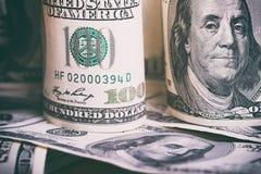 Waluty USA dolary fotografia royalty free