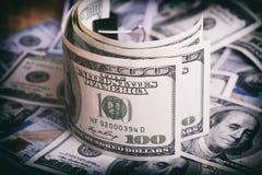 Waluty USA dolary fotografia stock