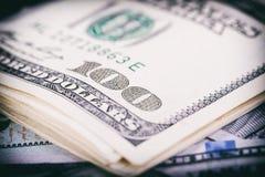 Waluty USA dolary zdjęcia royalty free