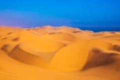 Unique sand dunes Stock Photo
